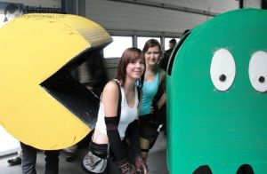 Lara Croft, Tifa, Pacman,Ghost by Madenice