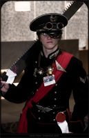 Imperial Commissar Costume by ATOMIKA135
