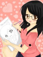 The artist behind the drawings by Neko-lolita-mimiko12