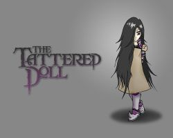 The Tattered Doll Wallpaper by Karbacca