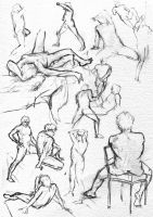 Life Drawing 2 by DavidSadler