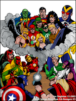 JLA-Avengers pic by Joe-Singleton