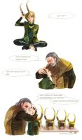 ODINandLOKI by fish-ghost