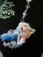 Mermaid whith jellyfish by Come-nelle-fiabe