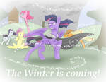 The Winter Is Coming by Evanzblack