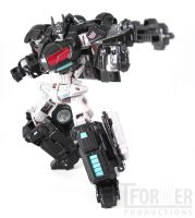 Darkside Optimus Prime - Robot Mode by Tformer