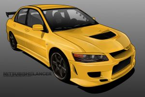 mitsubishi lancer FINAL by sc4designs
