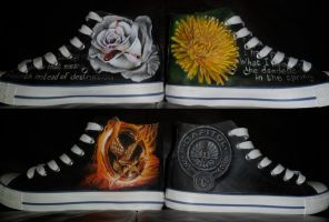 hunger games shoes pair no1 by danleicester