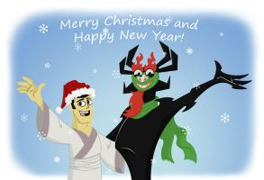 Merry Christmas and Happy New Year_2015 by Dark337