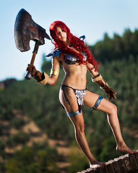 Red Sonja by Sandman-AC