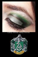Slytherin Make up by Lally-Hime