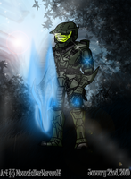 Tribute: Master Chief by MoonstalkerWerewolf