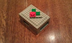 LEGO Raspberry Pi case by foxhead128