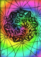 Kaleidoscopic Thoughts_Color by Psyconaut419