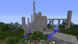 Minecraft Castle 1 by Abyss1