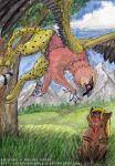 Double ACEO - Lapo and Fara by 8TwilightAngel8