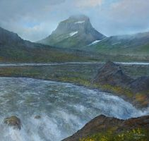 iceland mountain river attempt 5c by andrekosslick