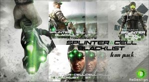 Splinter Cell Blacklist icon pack by ReDes1gn