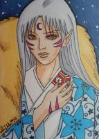 Lord Sesshomaru by LadyNin-Chan