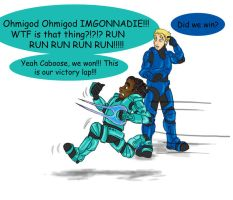 Rvb Comic: Spine of Steel by BriarRose86