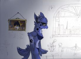WIP - Now there's a different title (Night Light) by Delta-YD