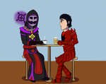 AT: A Drink With Soran by Alicia-x-Itachi
