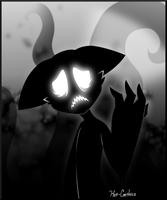 Sadness of the Shadow by Hot-Gothics