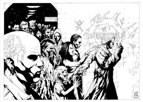 HELLBLAZER WRAPAROUND COVER by thisismyboomstick