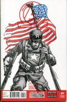 Captain America sketch cover by nguy0699