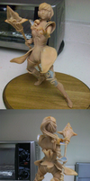 Sculpture of Athena by linkfreak131