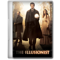 The Illusionist (2006) Movie DVD Icon by A-Jaded-Smithy