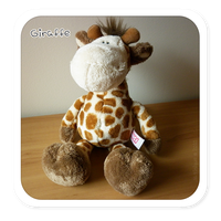 Plushies: NICI - Giraffe by satinique