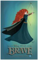 Princess Merida by madmoiselleclau