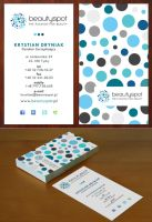 Beautyspot - business card by Funialstwo