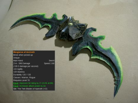 Warglaive of Azzinoth // World of Warcraft by Laitz