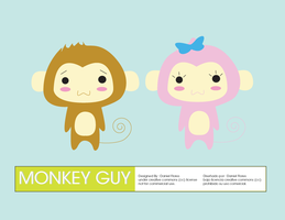 Monkey Guy by DXone