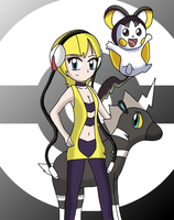 Gym leader Elesa by sketchinnegro
