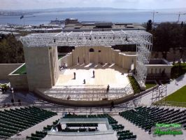 The Green Theatre in Baku by Numizmat