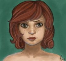 Young Erin by Calypso18