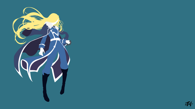 Oliver Mira Armstrong (FMA) Minimalist Wallpaper by slezzy7