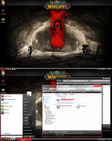WoW: Horde Vista Theme -Red- by nopd11