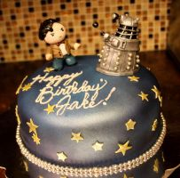 11th Doctor Cake by TubaQueen
