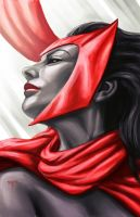 The Scarlett Witch by AIM-art