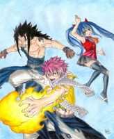 Dragons Slayers (Portada del tomo 23) by EED-Wolf
