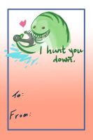 Valentine's Day Tidehunter Card by Hawoot