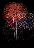 New Years Fireworks 2 by AquarianPhotography