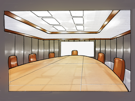 The Black Wing War Room by GleamingScythe