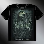 HELLFEST 2014 - T-Shirt design by stan-w-d