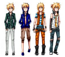 Len clothes design by nyuhatter