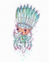 Pixie indian chief by randyotter
